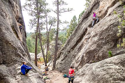 Black Hills Rock Climbing Group