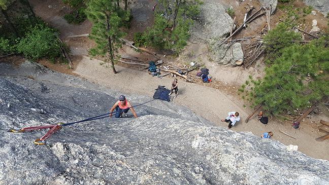 Black Hills Rock Climbing & Rapid City Rock Climbing