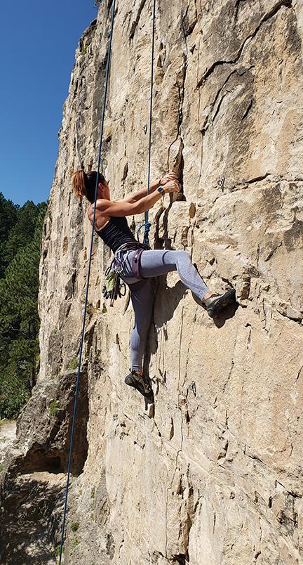 Falling Rock Rock Climbing