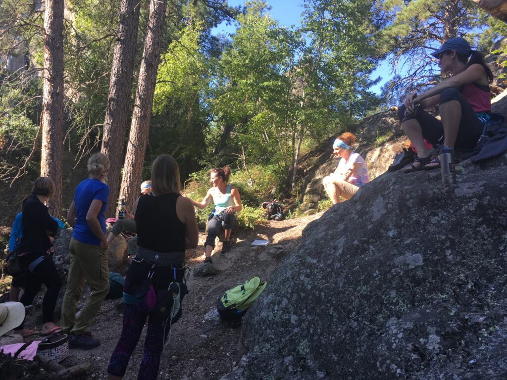 Black Hills Rock Climbing Event